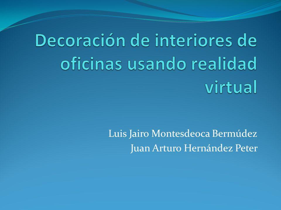 Luis Jairo Montesdeoca Bermúdez Juan Arturo Hernández Peter