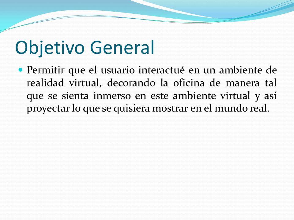 Objetivos específicos Navegar en un ambiente virtual 3d recorriendo en todas las direcciones posibles; así como permitir rotar en el mismo.