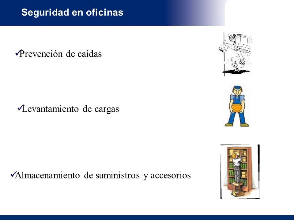 Seguridad en oficinas Manipulacion Manual de Cargas.ppt