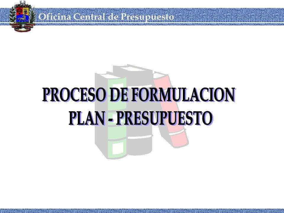 Oficina Central de Presupuesto CORDIPLANOCEPRE Marco Conceptual 3Plan Operativo Anual: instrumento vinculante entre el Plan Estratégico y el Presupuesto Anual, el cual traduce las estrategias, objetivos y metas de largo plazo, en planes objetivos y metas de corto plazo vinculados con las disponibilidades de recursos para ese período 3Plan Estratégico: instrumento de evaluación sistémica, donde se plasman los objetivos y metas de largo plazo; y se definen las estrategias a desarrollar y un estimado de los recursos requeridos para el logro de dichos objetivos y metas