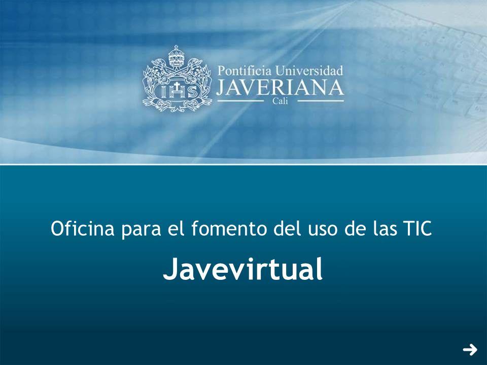Oficina para el fomento del uso de las TIC Javevirtual