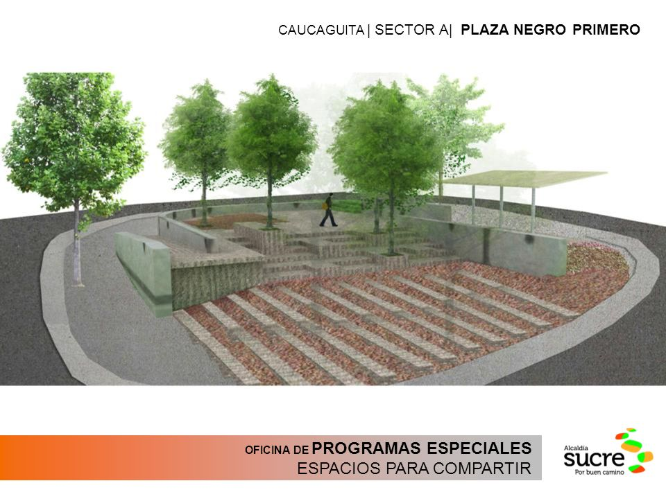 OFICINA DE PROGRAMAS ESPECIALES ESPACIOS PARA COMPARTIR CAUCAGUITA | SECTOR A| PLAZA NEGRO PRIMERO