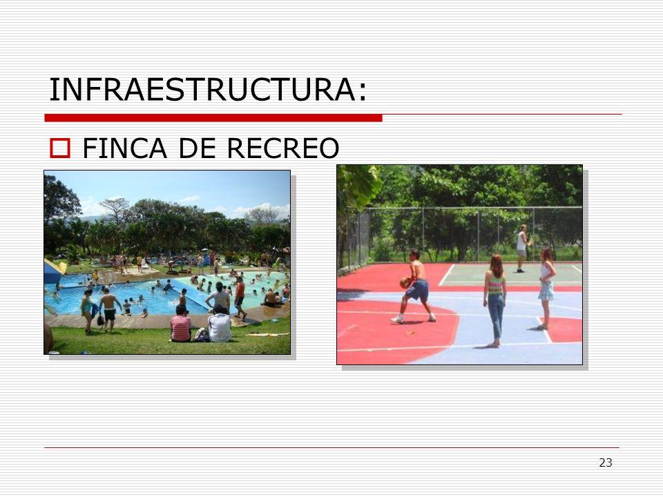 INFRAESTRUCTURA: FINCA DE RECREO 23
