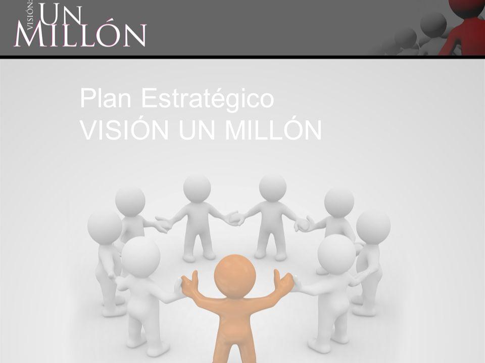 Plan Estratégico VISIÓN UN MILLÓN