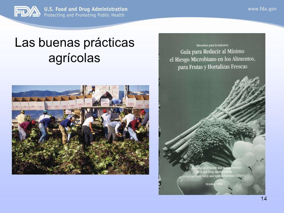 14 Las buenas prácticas agrícolas