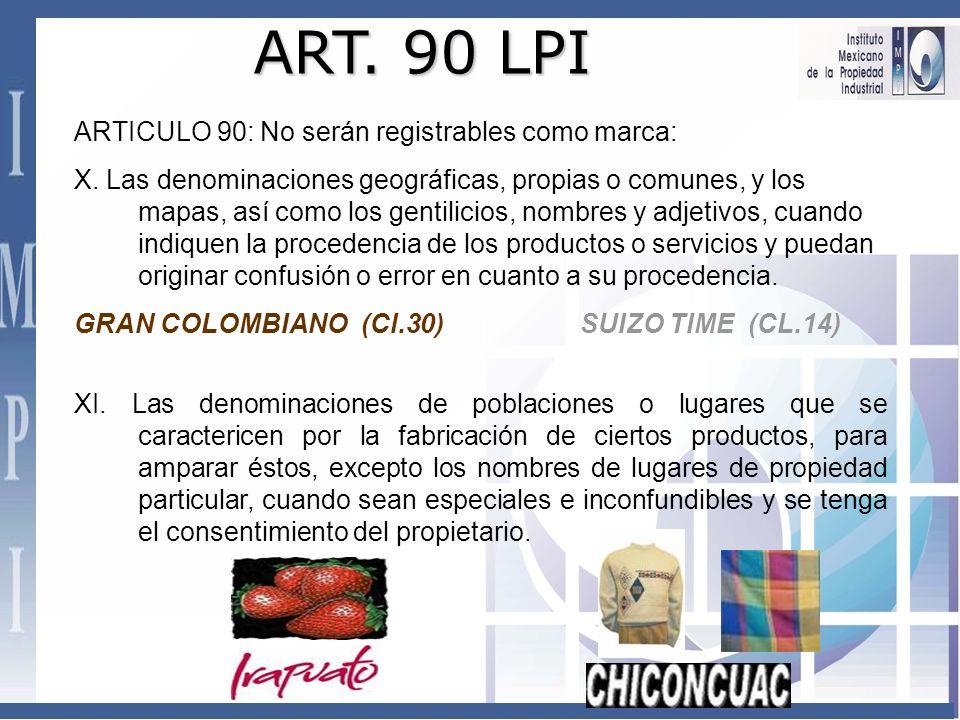ART. 90 LPI