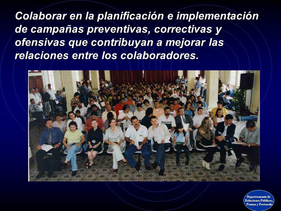 Organización de actividades sociales y recreativas de diversa naturaleza para fomentar la solidaridad entre los funcionarios legislativos. Organizació