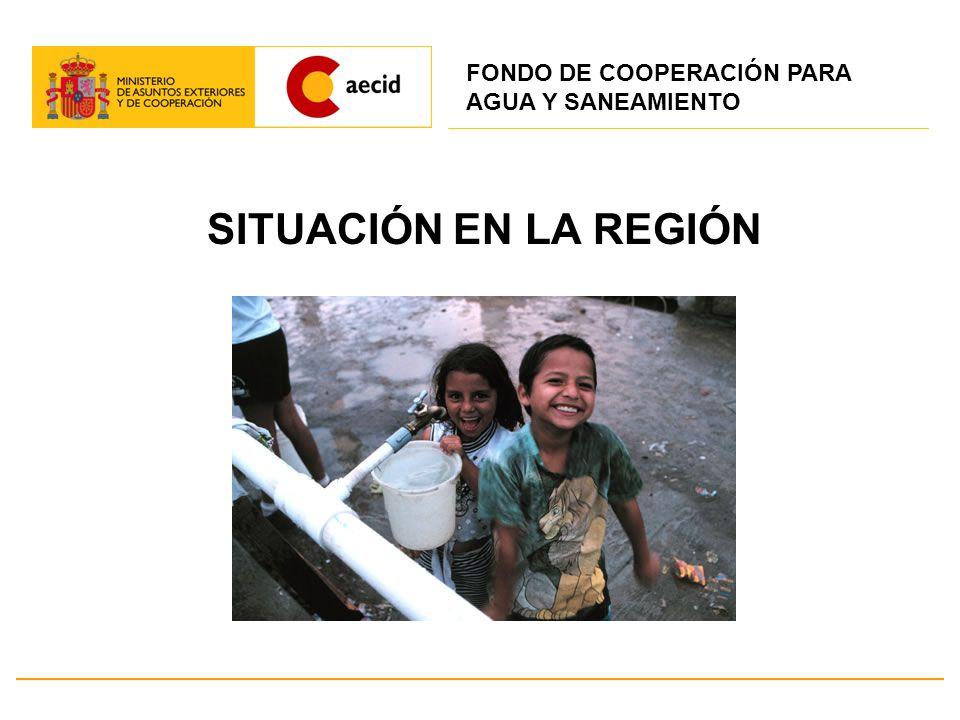 Acuerdos con Organismos Multilaterales de Desarrollo El 22.10.2008 se firmó un MOU, entre SECI y SEE, con el BID – derivado del Protocolo de 18.3.2001 – para el establecimiento del Fondo Español de Agua y Saneamiento en América Latina y el Caribe.
