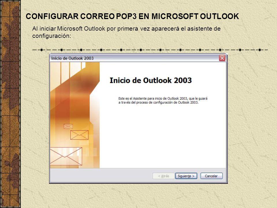 POP3 Protocolo de la oficina de correo Es un protocolo estándar de recepción de mensajes de e- mail. POP3 es un servicio que generalmente se recibe cu