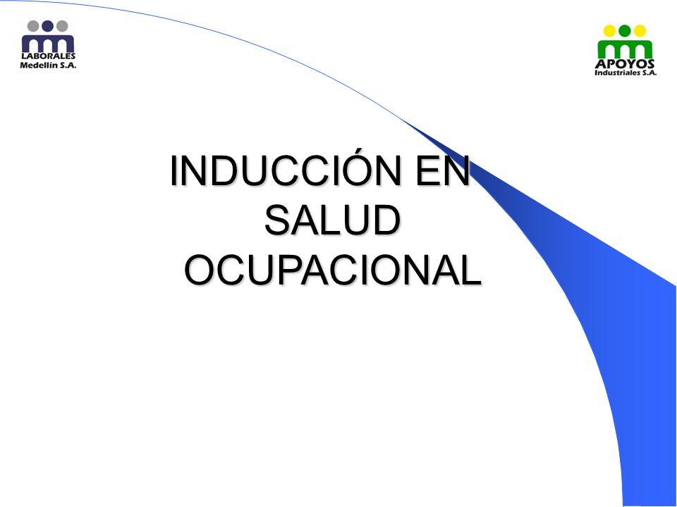 INDUCCIÓN EN SALUD OCUPACIONAL