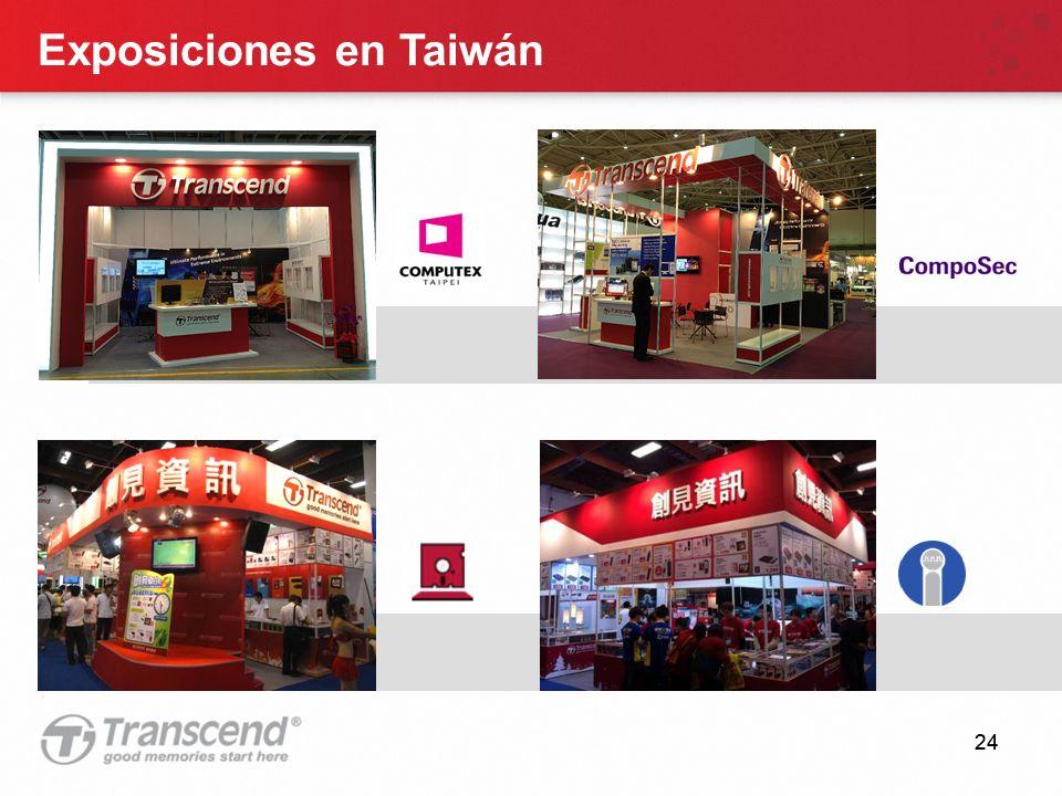 24 Exposiciones en Taiwán