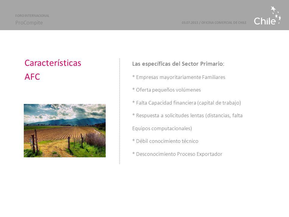Marcas Sectoriales | ProChile 03.07.2013 / OFICINA COMERCIAL DE CHILE FORO INTERNACIONAL ProCompite PROCESO DEL MERKEN