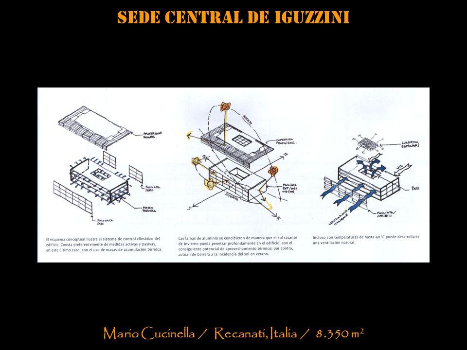 Sede central de iguzzini Mario Cucinella / Recanati, Italia / 8.350 m 2