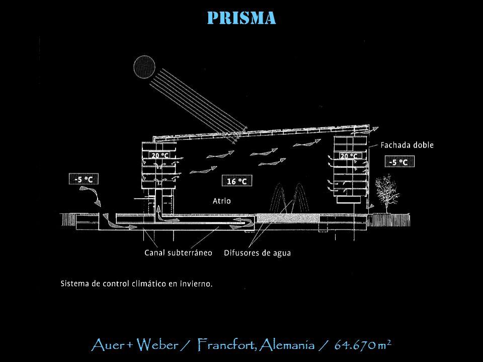 prisma Auer + Weber / Francfort, Alemania / 64.670 m 2