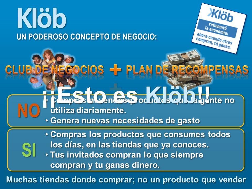 Compartir Klöb es mas fácil de lo que imaginas!, solo necesitas iniciativa, compromiso y ganas de triunfar.