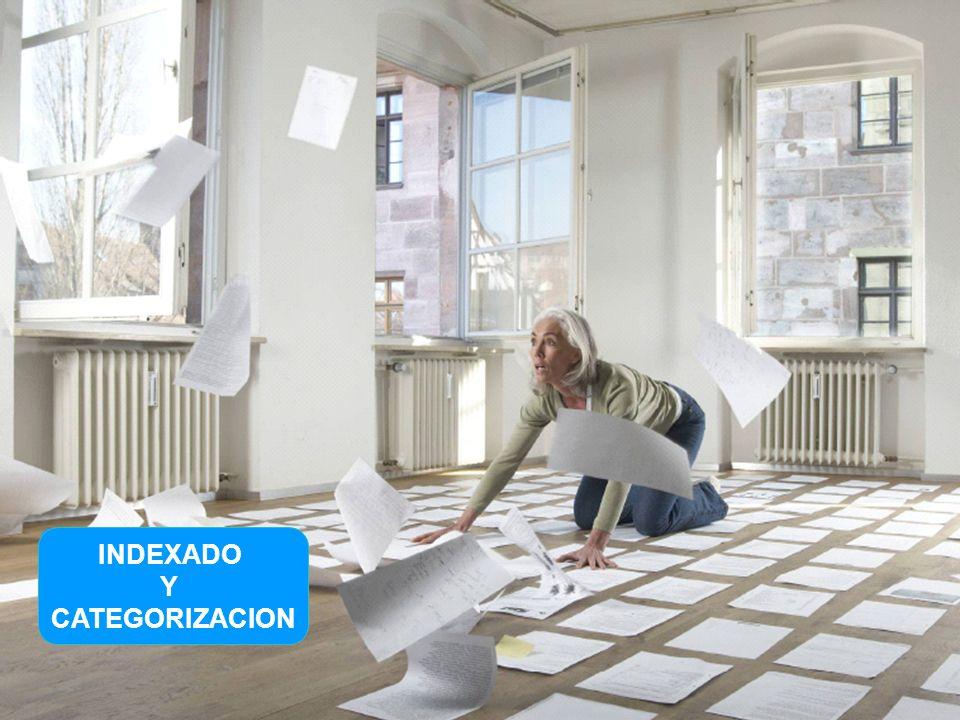© 2009 Xerox Global Services 18 INDEXADO Y CATEGORIZACION