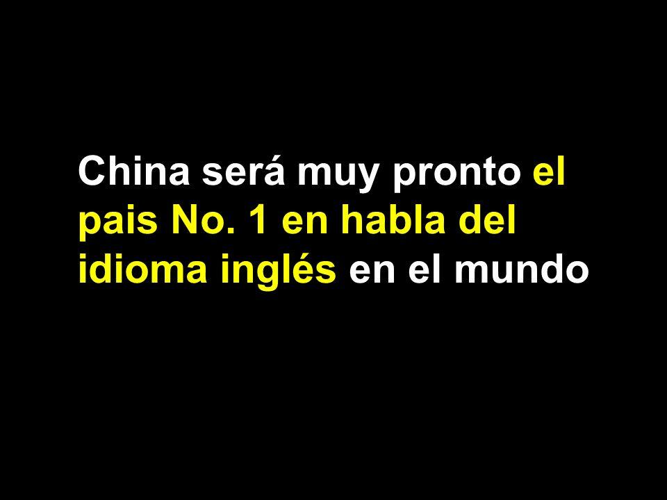Page 4 China será muy pronto el pais No. 1 en habla del idioma inglés en el mundo