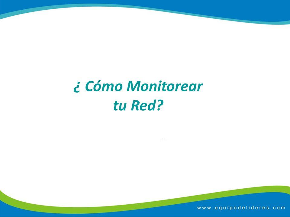¿ Cómo Monitorear tu Red?
