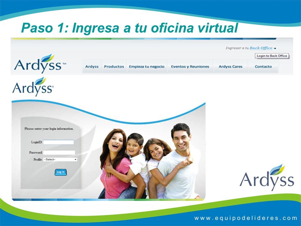 Paso 1: Ingresa a tu oficina virtual