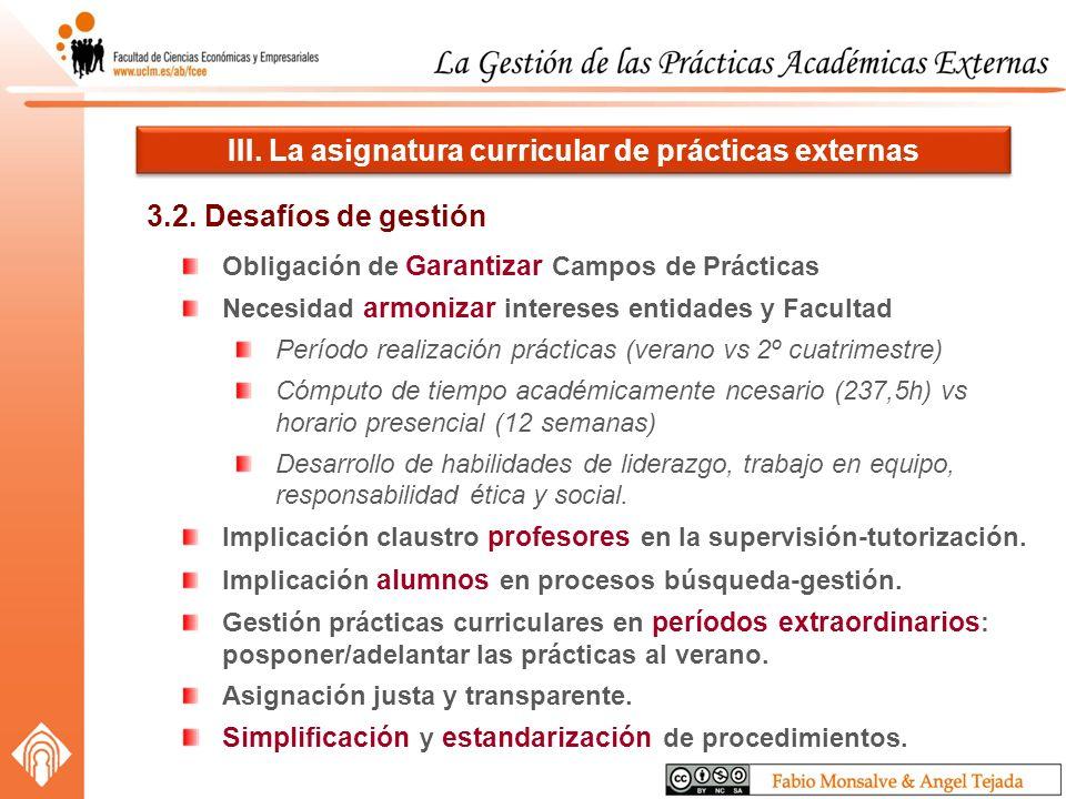 3.2. Desafíos de gestión III.