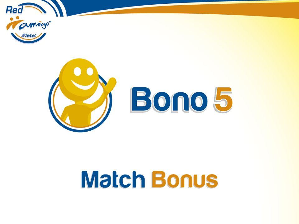 Match Bonus!!.Significa pago adicional sobre cheques emitidos.