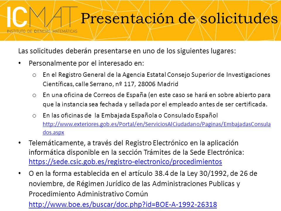 Información adicional Para más información consultar la siguiente página web: http://www.icmat.es/resources/employment/laCaixa- fellowships Persona de contacto: Esther Fuentes Severo Ochoa Manager predoc@icmat.es 912999705