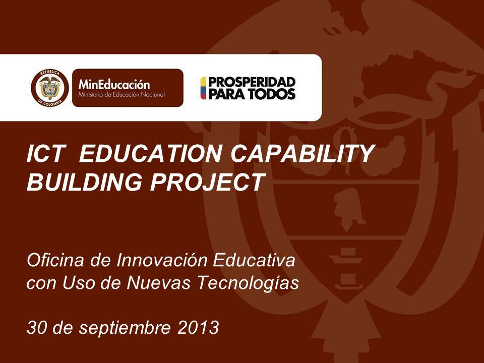 Reunión informativa de los borradores de la licitación internacional para selección del implementador del proyecto ICT Education Capability Building Project.