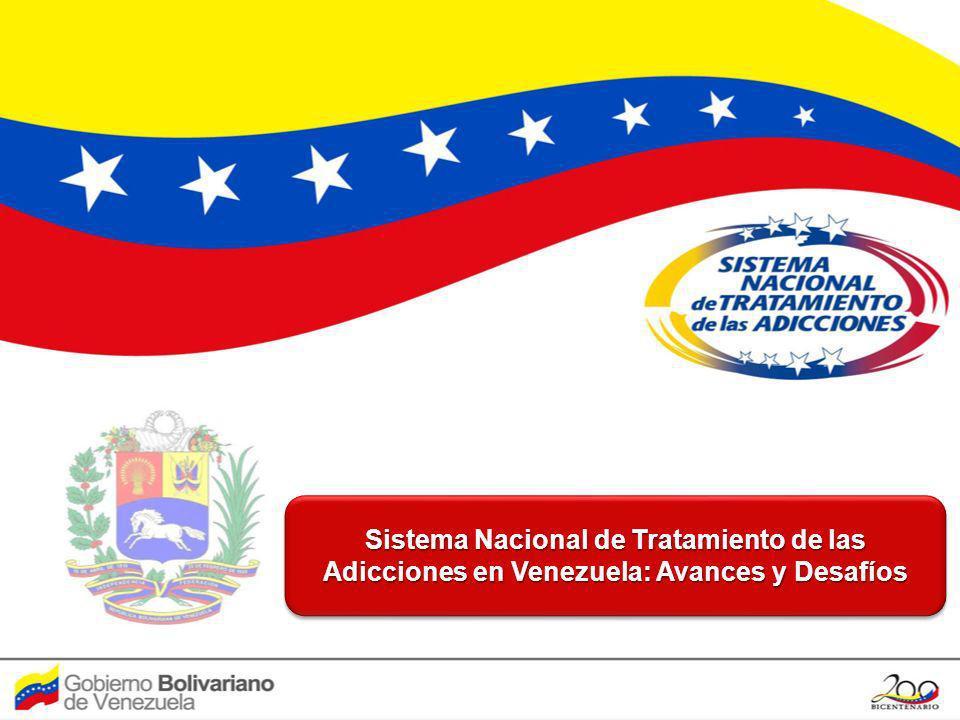 Sistema Nacional de Tratamiento de las Adicciones en Venezuela: Avances y Desafíos