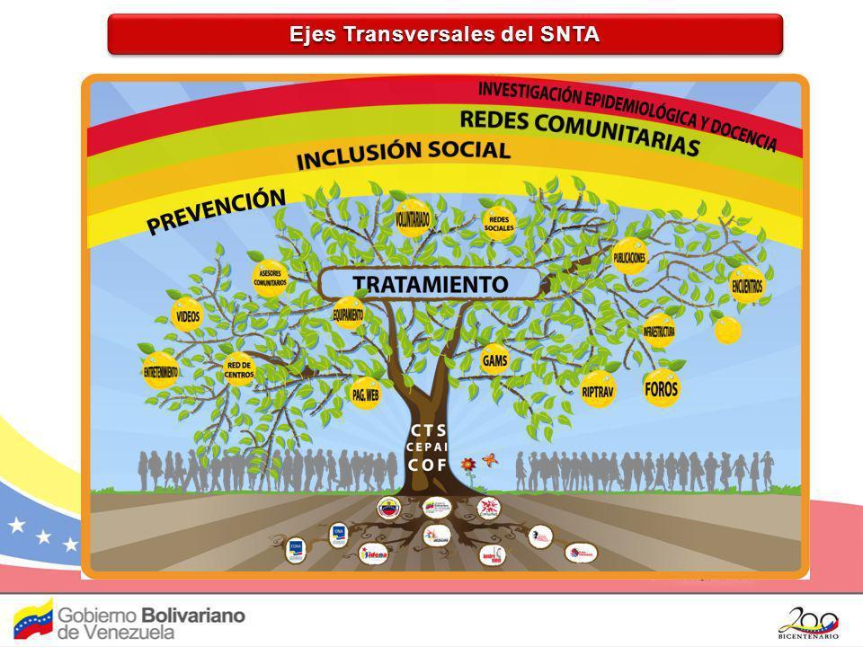 Ejes Transversales del SNTA