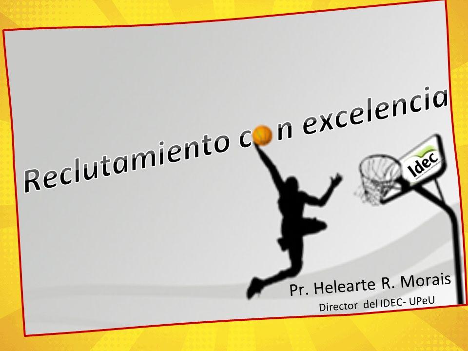 Pr. Helearte R. Morais Director del IDEC- UPeU