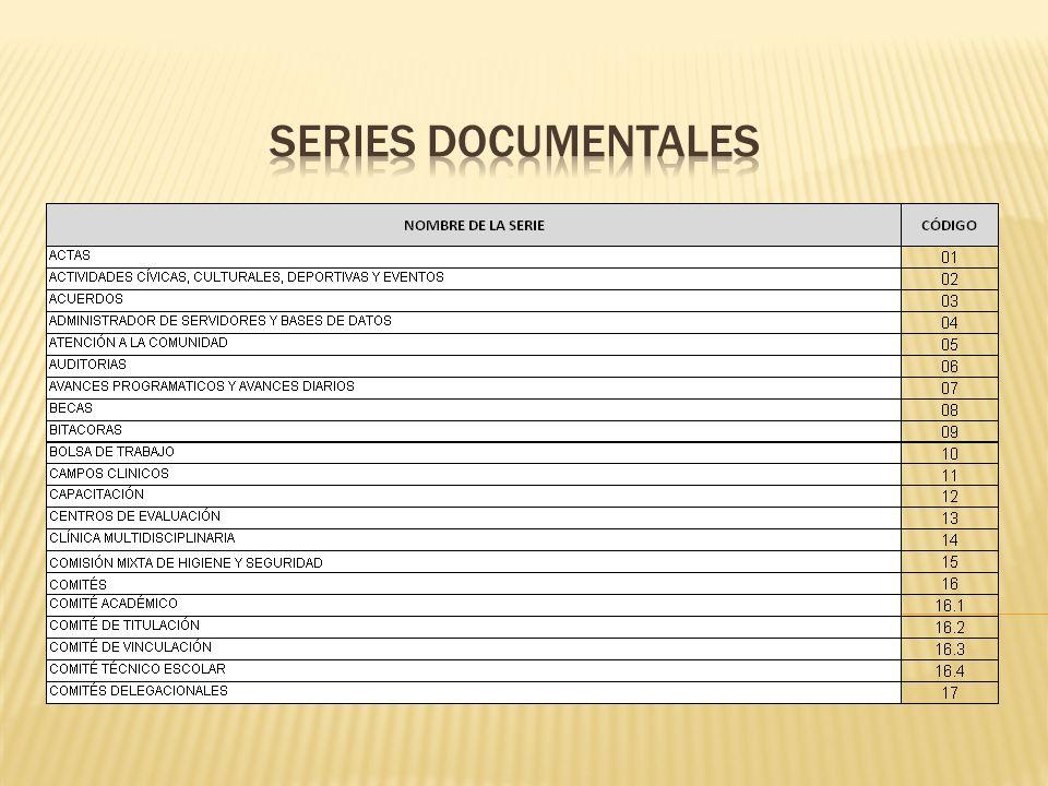 1.Describe el tema principal de la documentación que resguarda el expediente.