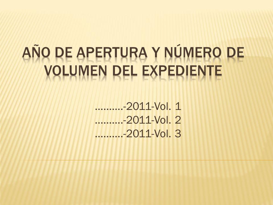 …...….-2011-Vol. 1 ……….-2011-Vol. 2 ……….-2011-Vol. 3