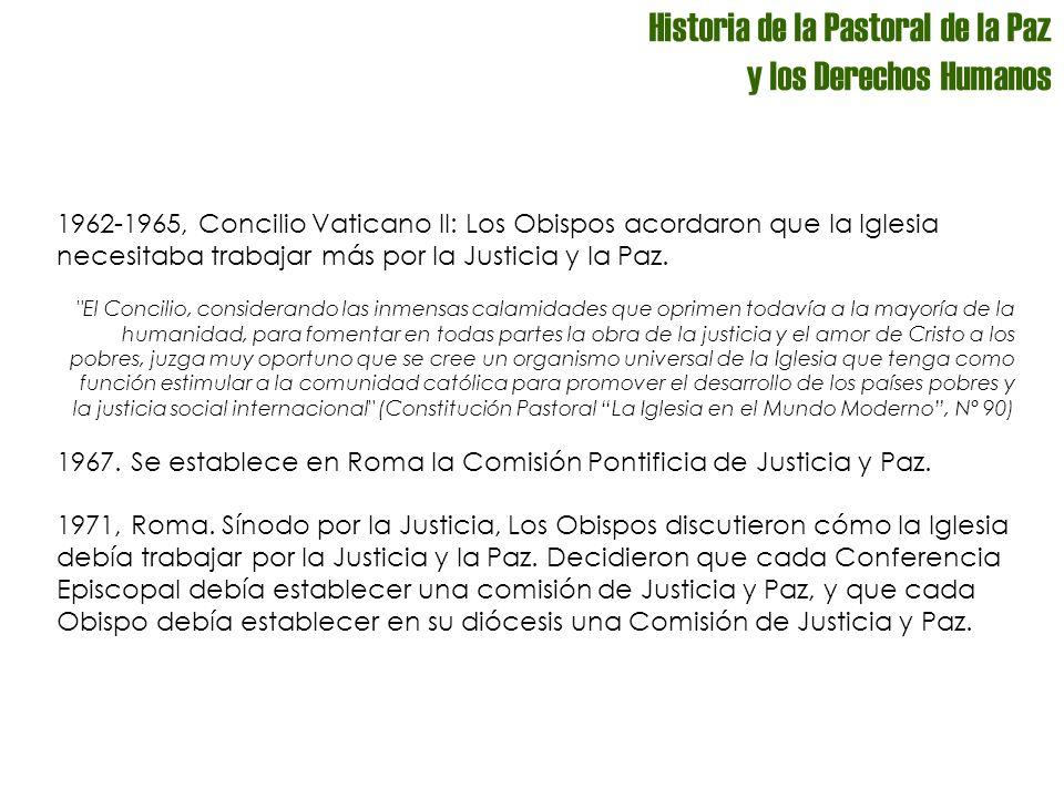 PASTORAL SOCIAL ¿Qué es el Secretariado de Pastoral Social–SEPAS.