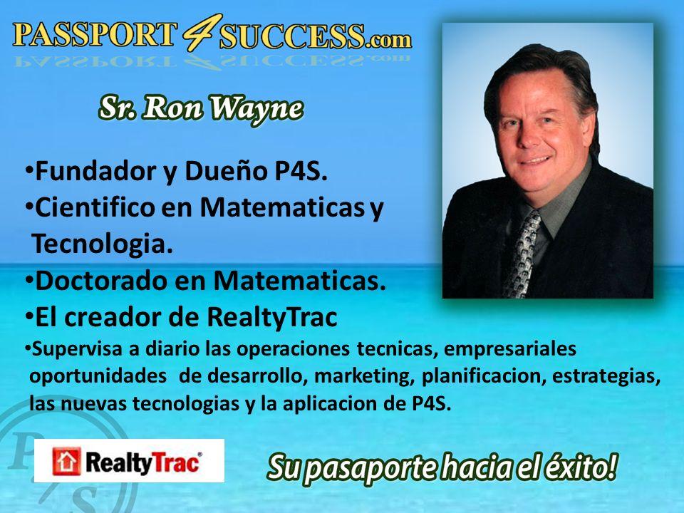 Fundador y Dueño P4S. Cientifico en Matematicas y Tecnologia.