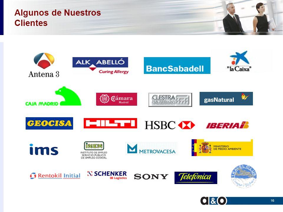 a&o Systems and Services Iberia Orientando los servicios a su empresa 17