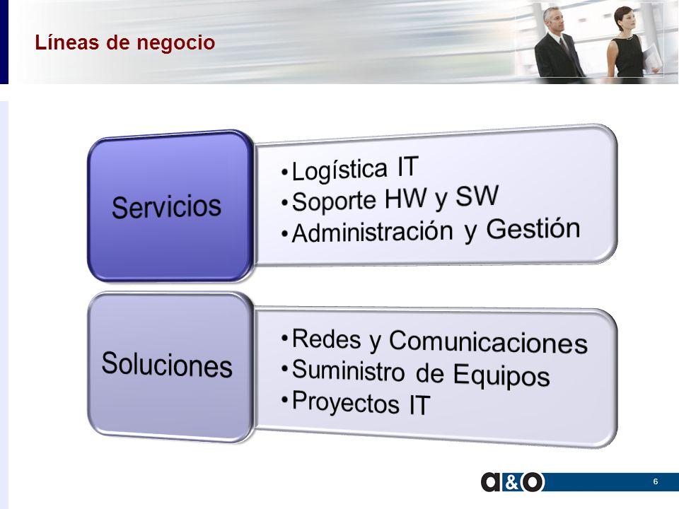 Servicios Logística IT Movimientos con ámbito nacional de sistemas y equipos.