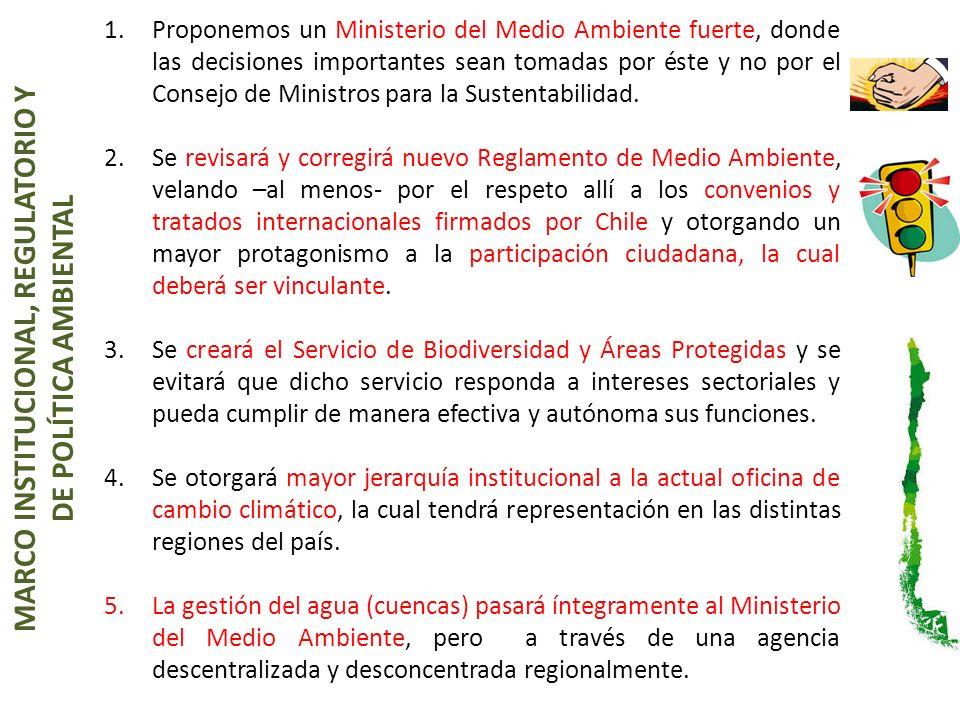 1.Se implementará un sistema único de información territorial- ambiental, de amplio acceso ciudadano.