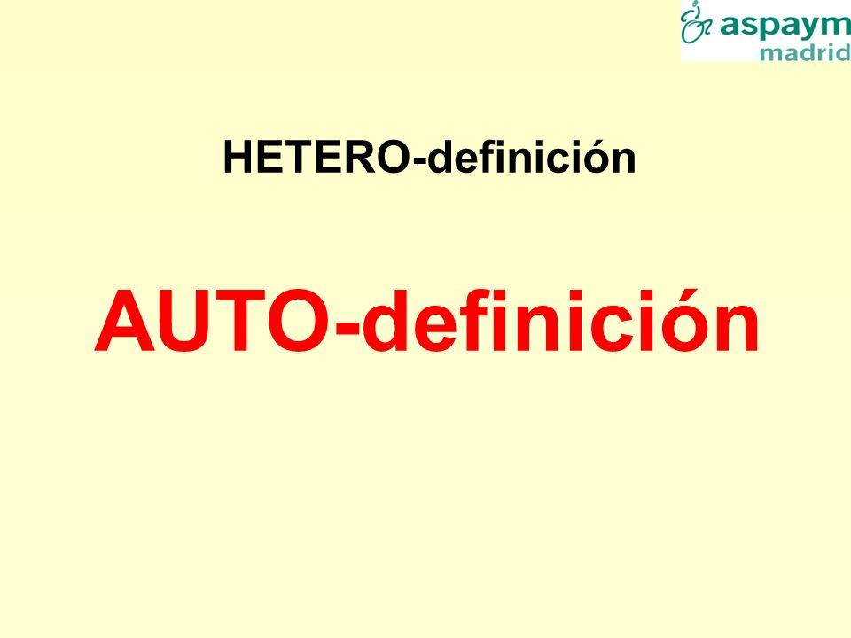 HETERO-definición AUTO-definición