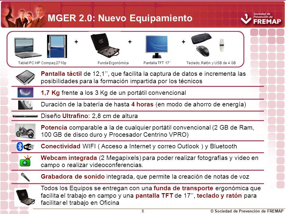 © Sociedad de Prevención de FREMAP 9