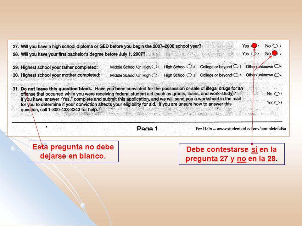 Si el estudiante no rinde planilla deberá oscurecer el óvalo 3 y pasar a la pregunta 38.