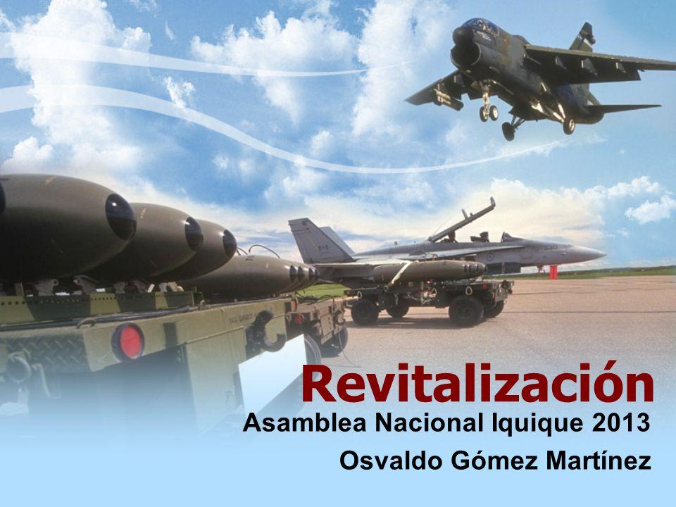 Revitalización Asamblea Nacional Iquique 2013 Osvaldo Gómez Martínez