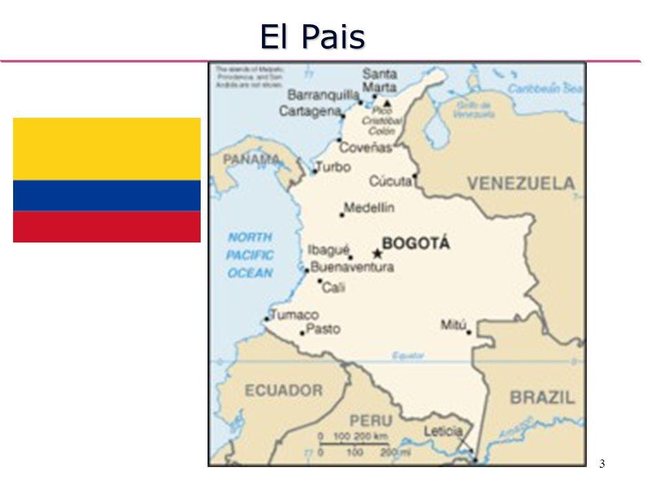 Capital: Bogotá Língua oficial: Espanhol El Pais