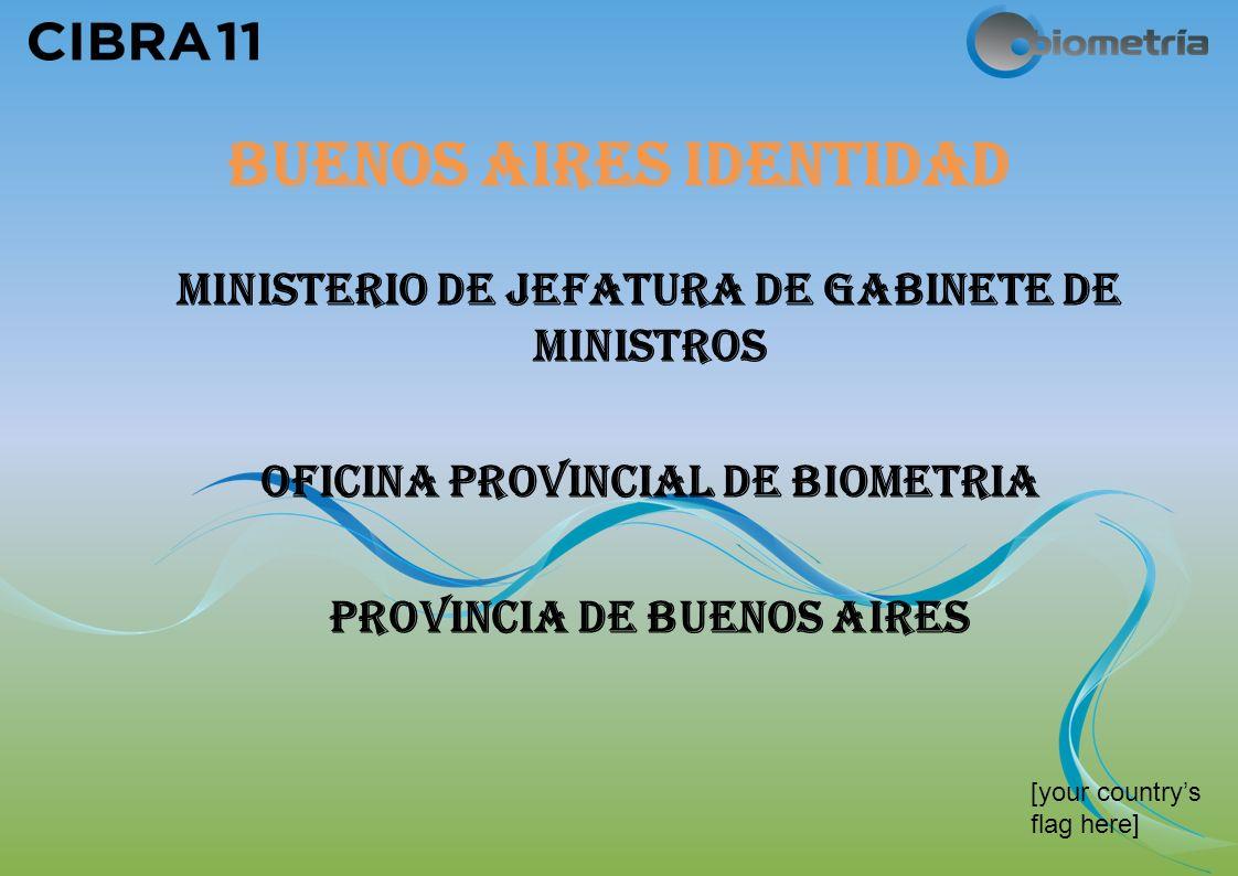 [your countrys flag here] BUENOS AIRES IDENTIDAD MINISTERIO DE JEFATURA DE GABINETE DE MINISTROS OFICINA PROVINCIAL DE BIOMETRIA PROVINCIA DE BUENOS AIRES