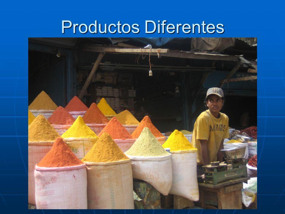 Productos Diferentes