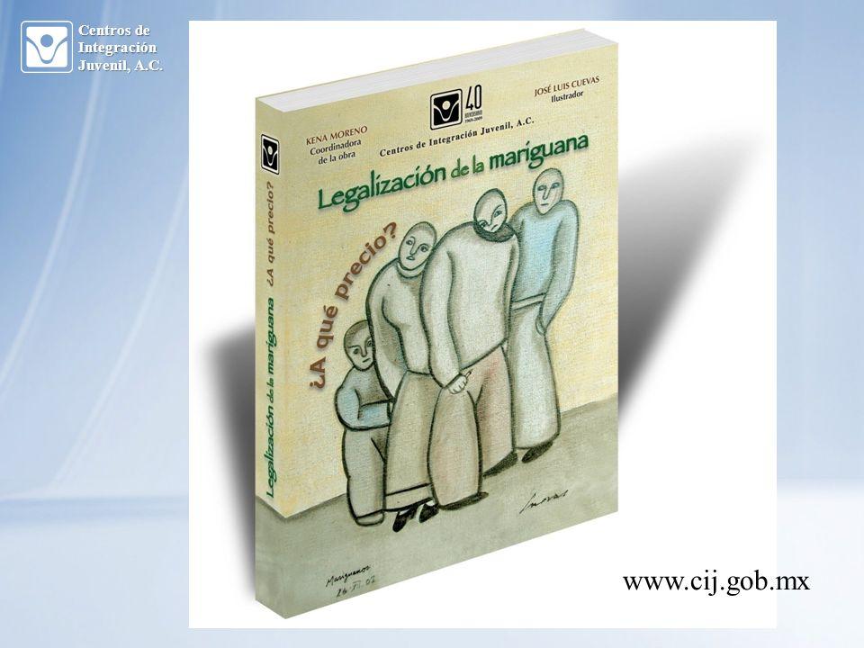 Centros de Integración Juvenil, A.C. www.cij.gob.mx