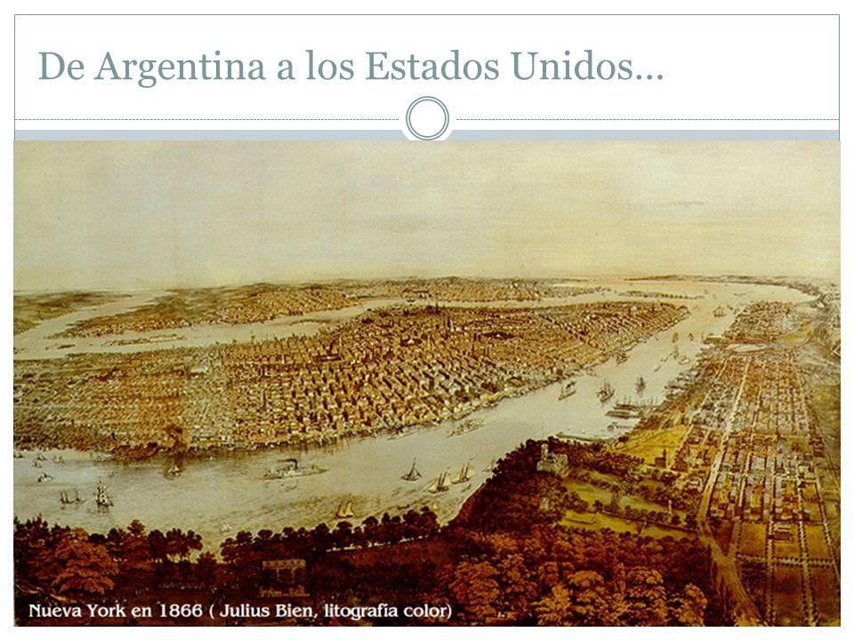 De Argentina a los Estados Unidos… D. F. Sarmiento, Ministro Plenipotenciario de la República Argentina, 1865
