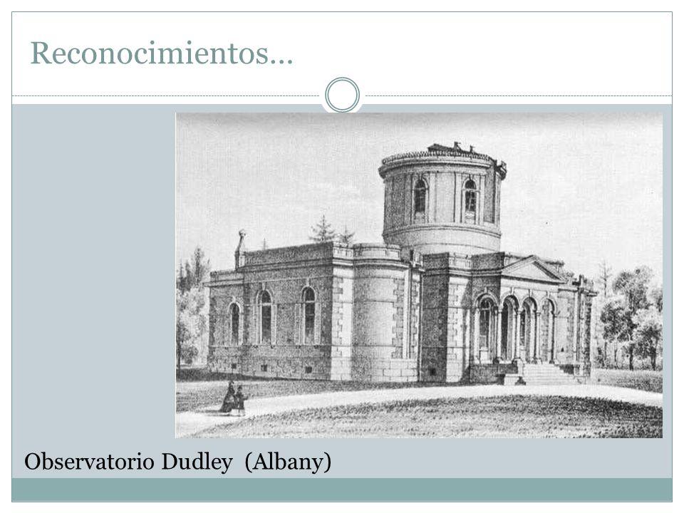 Observatorio Dudley (Albany) Reconocimientos…