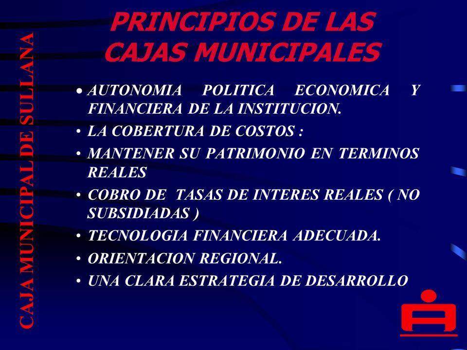 CONSTRUCCION DE LA SEDE INSTITUCIONAL CAJA MUNICIPAL DE SULLANA
