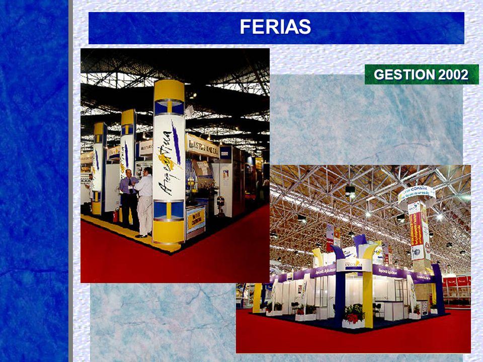FERIAS GESTION 2002