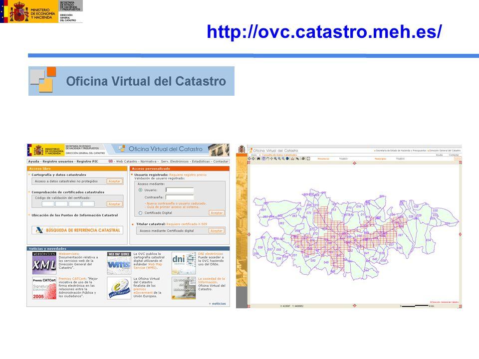 Difusión de información en OVC Consulta y certificación de la información gráfica y alfanumérica para ciudadanos y usuarios registrados.